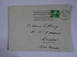 Lettre ALGER 1960 - Algerije (1962-...)