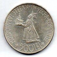 ROMANIA, 500 Lei, Silver, Year 1941, KM #60 - Romania