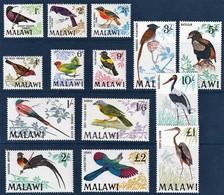 1968 Malawi Birds Set (** / MNH / UMM) - Unclassified