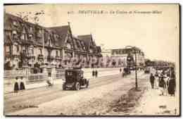 CPA Deauville Le Casino Et Normandy Hotel - Deauville
