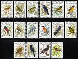 1988 Malawi Birds Definitives Set (** / MNH / UMM) - Unclassified