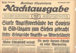 Reich  30. November 1944  Berliner Illustrierte Nachtausgabe Nr. 282 - Historische Dokumente