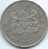 Kenya - 1966 - 2 Shillings - KM6 - Kenya