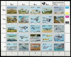 South Africa Mi# 865-89 Postfrisch/MNH - Aviation Airplanes - Afrique Du Sud (1961-...)