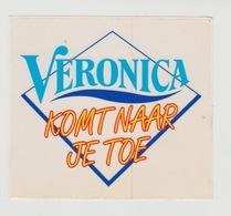 Sticker Radio/TV: Veronica Komt Naar Je Toe (NL) - Aufkleber