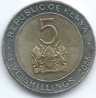 Kenya - 2005 - 5 Shillings - KM37.1 - Non Magnetic - Kenya