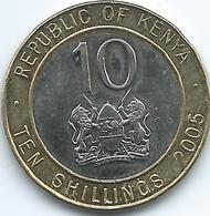 Kenya - 2005 - 10 Shillings - KM35.1 - Non Magnetic - Kenya