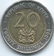 Kenya - 1998 - 20 Shillings - KM32 - Non Magnetic - Kenya