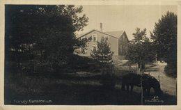 Furuly Sanatorium. NORUEGA // NORWAY // NORGE. BERGEN - VED BYPARKEN - Norvège