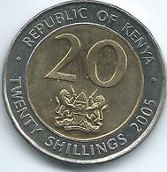 Kenya - 2005 - 20 Shillings - KM36.1 - Non Magnetic - Kenya