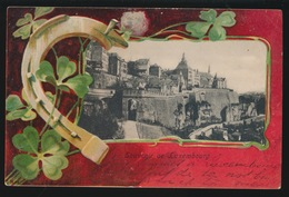 SOUVENIR DE LUXEMBOURG   2 SCANS - Cartes Postales