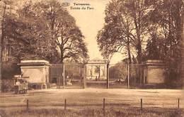 "Tervueren - Entrée Du Parc (""Ijskot"" Marchand De Glaces ? 1929)  (vaste Prijs) - Tervuren"