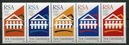South Africa Mi# 1011-5 Postfrisch/MNH - New Constitution - Afrique Du Sud (1961-...)