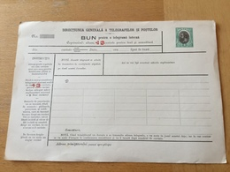 KS1 Rumänien Ganzsache Stationery Entier Postal TB 13 - Entiers Postaux