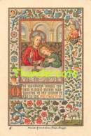 IMAGE PIEUSE SOUVENIR PREMIERE COMMUNION JOSEPH LEUN 1906 BRUGES BRUGGE VEN DE VYVERE PETYT - Communion
