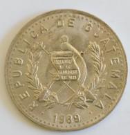GUATEMALA 10 CENTAVOS 1989 - Guatemala