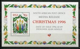 South Africa Mi# 1024A Media Release Postfrisch/MNH - Christmas - Non Classés