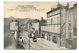 CLERMONT FERRAND - Perspective De La Rue Fontgiève - Clermont Ferrand