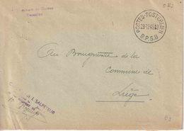 """BSD/FBA : Bf """"OAS"""" Met Viol. Griffe """"1er Regiment De Guides """" B. P. S. 8/29.12.46"""" (BPS 8 = BENSBERG/DELLBRÜCK V.10.7.46 - Postmark Collection"""