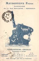 33-BORDEAUX- QUINCAILLERIE MAYSONNAVE FRERES, 15/17 RUE SAINT-JAMES - POINCONNEUSE-CISAILLE - Bordeaux