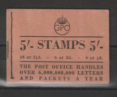 Grande Bretagne 1944 Carnet George VI Entamé - Markenheftchen