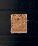 NORVEGE / N°12  2 SKILLING ORANGE - Oblitérés