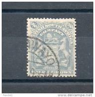 Afrique Du Sud. Compagnie Britanique. 2/6 - New Republic (1886-1887)
