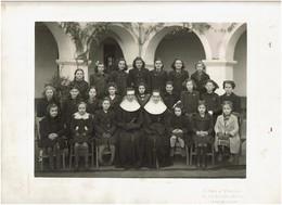 LEVALLOIS PERRET 92 PHOTOGRAPHIE ORIGINALE De DAVID Et VALLOIS Ecole Religieuse Saint Marie Photo De Classe - Lugares