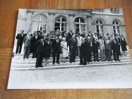 Photo De Presse CONSEIL DES MINISTRES DU GOUVERNEMENT SOCIALISTE MITTERRAND MAUROY - Célébrités