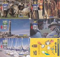 6 Télécartes URUGUAY Lot1 - Uruguay