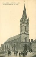 PHL 49 CHALONNES-SUR-LOIRE. Belle Animation Devant Eglise Saint-Maurille - Chalonnes Sur Loire