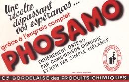 FRANCE - Buvard - Agriculture - Elevage - PHOSAMO - Engrais Complet - Une Récolte Dépassant Vos Esperences - Agriculture