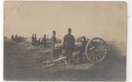 Militaires -  Artillerie - Canon  - Carte Photo -  CPA° - Guerra 1914-18