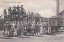 59 - Denain - Groupe De Cafus - Circulé En 1907 - Belle Animation - TBE - Denain