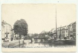 Termonde -Dendermonde - Pont Des Bogards Met Boot  ( 2 Scans) Niet Verzonden - Dendermonde
