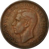 Monnaie, Australie, George VI, Penny, 1941, TB, Bronze, KM:36 - Monnaie Pré-décimale (1910-1965)