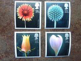 1987  Flower Photographs By Alfred Lammer    SG = 1347 / 1350   **  MNH - 1952-.... (Elizabeth II)