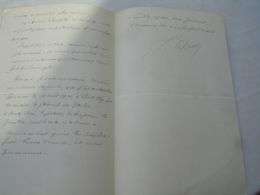 Lot De 3 Lefaivre Lieutenant  Campagne Du Maroc  Commandant Detachement De Legionnaire Lettre Autographe Adressee Au Com - Autographes