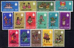Gilbert & Ellice Islands QEII 1968 Decimal Definitives Set Of 15, Used, SG 135/49 (BP2) - Gilbert- En Ellice-eilanden (...-1979)