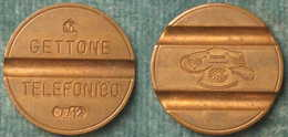 M_p> CURIOSITA' Gettone Telefonico CMM 7712 Con VARIE Escrescenze. VEDERE FOTO - Monétaires/De Nécessité