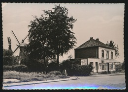 OELEGEM  CAFE DE TOERIST ONG 1895 MET MOLEN - Ranst