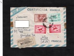 LSC 1962 - Recommandé Républica Argentina Ministerio De Communicaciones - Cachet BUENOS AIRES Sur Timbres - Lettres & Documents