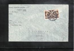 Portugal 1959 Interesting Letter - 1910-... Republic