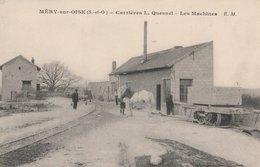 MERY-SUR-OISE (S.-et-O ). Carrières L. Quesnel. Les Machines. Cheval - Altri Comuni