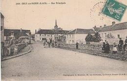 ORLY-SUR-MORIN (77). Rue Principale, Au Fond L'Eglise. - Autres Communes
