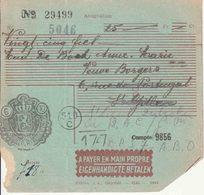 """BSD/FBA : ASSIGNATIE  Van """"BRUSSEL 6.X.48"""" Naar  """" B.P.S.  7 / 9.10.48"""" En """"B.P.S. 7 / 18.10.48"""" - Postmark Collection"""