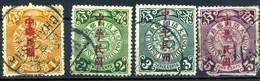 1912 Cina, Lotto Francobpolli Usati - Chine