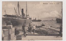 Messina, Veduta Animata Del Porto   - F.p. - Anni '1920 - Messina