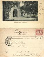 Nederland, LEEK, Nienoord, Poort Anno 1708 (1901) Ansichtkaart - Netherlands