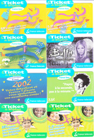 16 Tickets FRANCE TELECOM Lot1 - FT